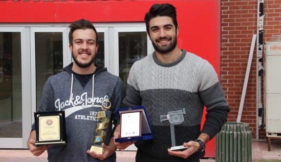 Çektikleri belgeselle ödül kazandılar