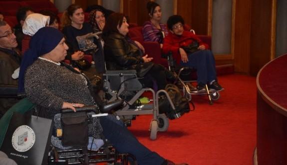 Engelliler, sağlık sorunlarını çözmek için toplandı