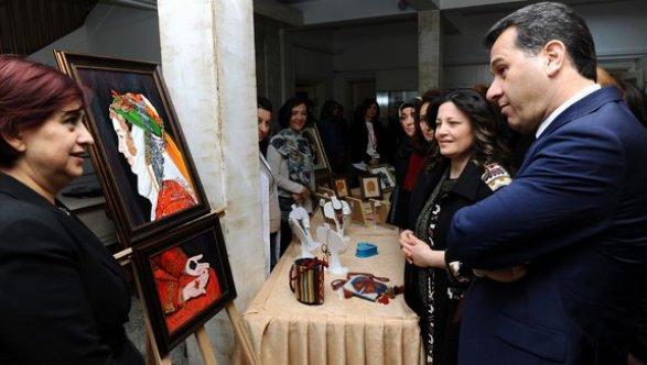 Geleneksel Türk El Sanatları Karma Sergisi açıldı