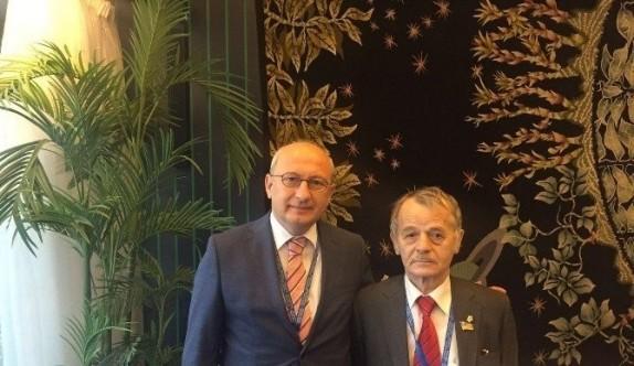 Tatarların taleplerini Meclis'e taşıdı