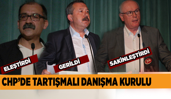 CHP Odunpazarı Danışma Kurulu toplandı