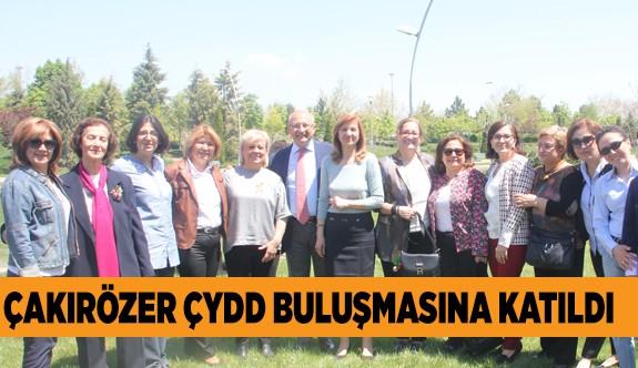 CHP'li Çakırözer ÇYDD buluşmasına katıldı