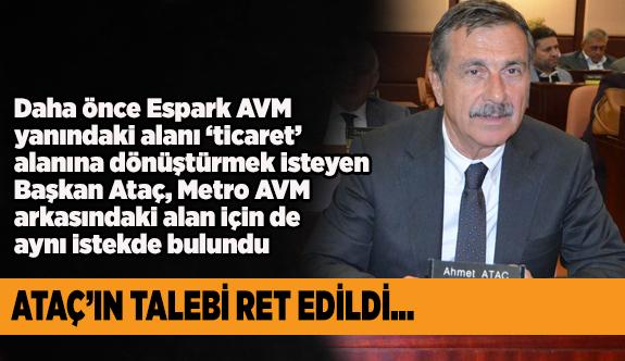 Ataç, Meclis kararını protesto etti