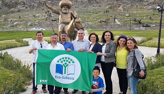 Eko-okullara Uluslararası 'Yeşil Bayrak' ödülü