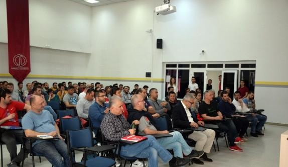 TBF Ulusal Altyapı Antrenör Gelişim Semineri'nin açılışı Eskişehir'de yapıldı