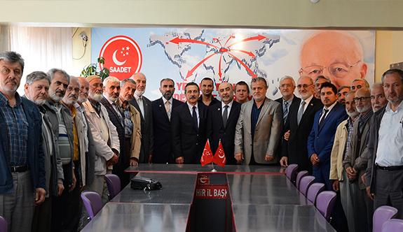 Başkan Ataç parti ziyaretlerine devam ediyor