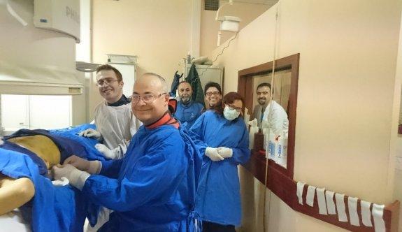 ESOGÜ'de 'Varikosel' rahatsızlığı için ameliyatsız çözüm