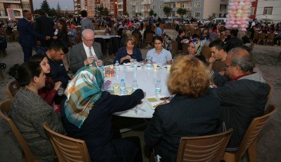 Gökmeydan'da iftar buluşması