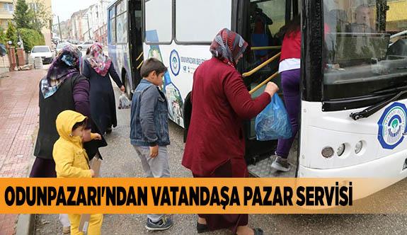 ODUNPAZARI'NDAN VATANDAŞA PAZAR SERVİSİ