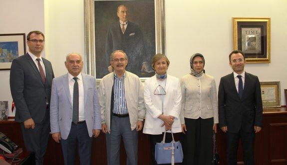 TBMM Alt Komisyonu Başkanı'ndan Büyükerşen'e ziyaret