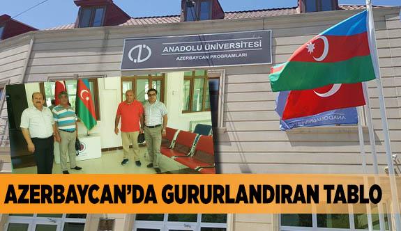 AZERBAYCAN'DA GURURLANDIRAN TABLO