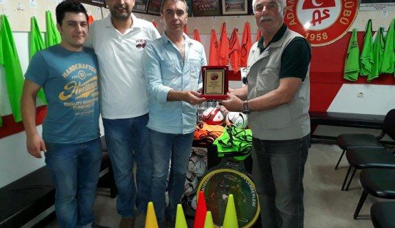 Vos26'dan Adanırspor'a spor malzeme desteği