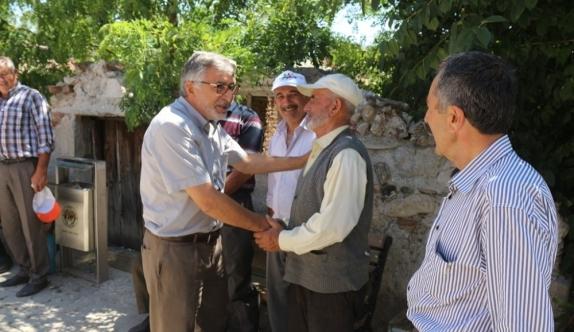 Başkan Bozkurt çalışmaları yerinde inceledi