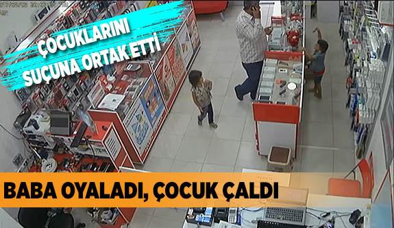 ÇOCUKLARINI SUÇUNA ORTAK ETTİ
