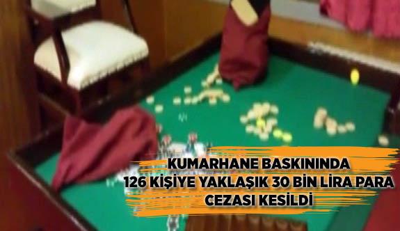 EMNİYETTEN DERNEK ADI ALTINDAKİ KUMARHANELERE BASKIN
