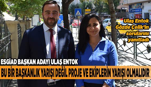 ''ESGİAD'ın tüm üyeleri ile olmazsa olmazı Eskişehir'de söz sahibi olmaktır''
