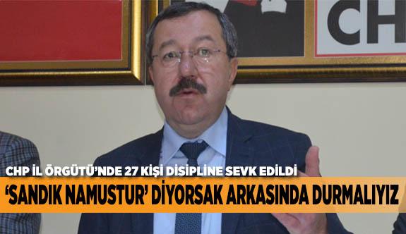 'SANDIK NAMUSTUR' DİYORSAK ARKASINDA DURMALIYIZ