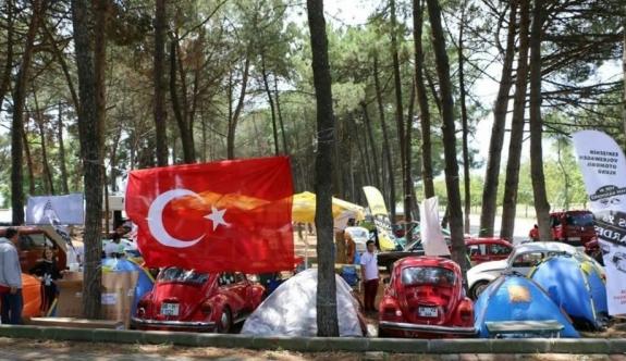 Vosvos buluşmasında Eskişehir'i temsil ettiler