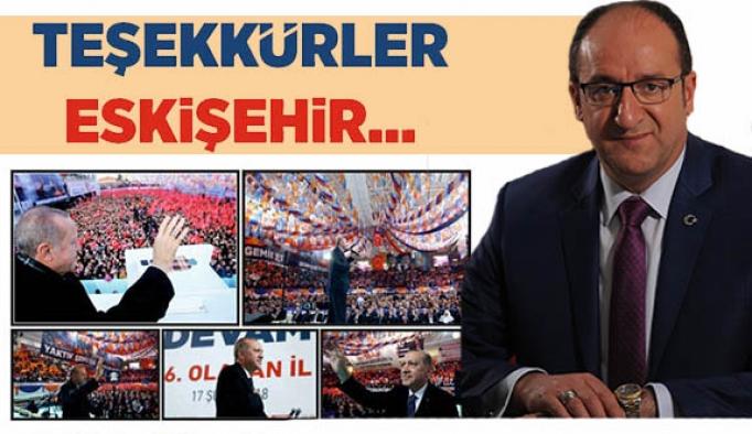 """AK PARTİ İL BAŞKANI DÜNDAR ÜNLÜ: """"HEDEFİMİZ 2019"""""""