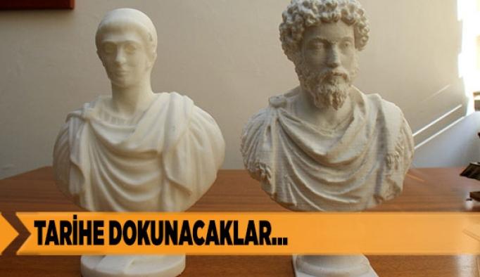"""ANADOLU ÜNİVERSİTESİ'NDEN """"3 BOYUTLU YAZDIRILMIŞ ESERLER MÜZESİ"""""""
