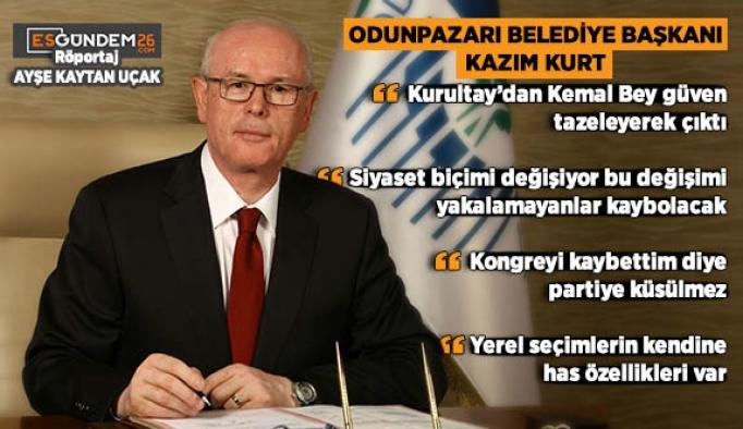 """KURT """"İKİ PARTİLİ SİSTEME GEÇİLMİŞTİR"""""""