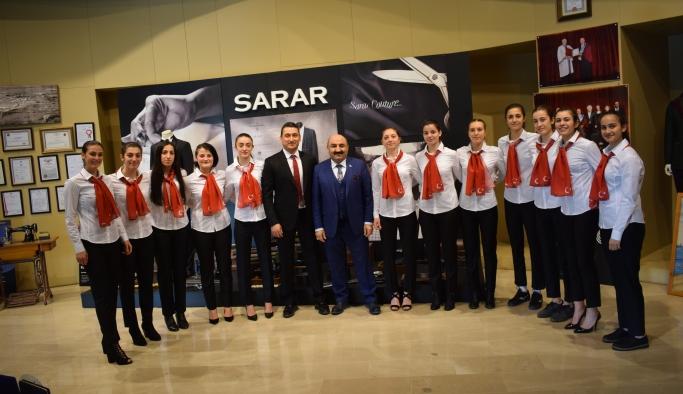 Sarar'dan Şehrin şampiyonlarına destek