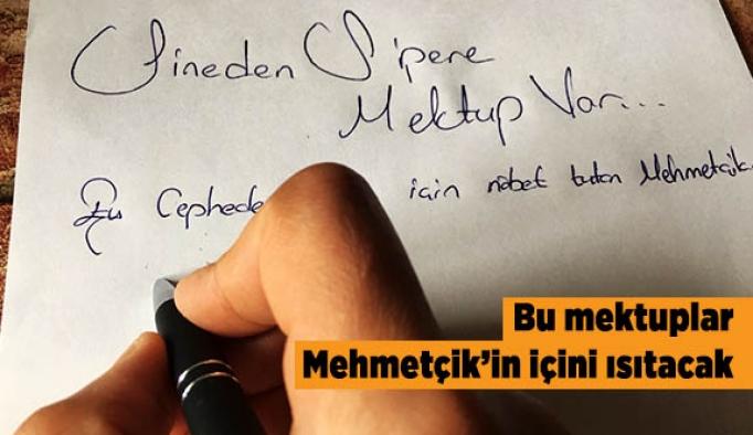 """Sineden Sipere Mektup""lar Mehmetçik'e moral olacak"