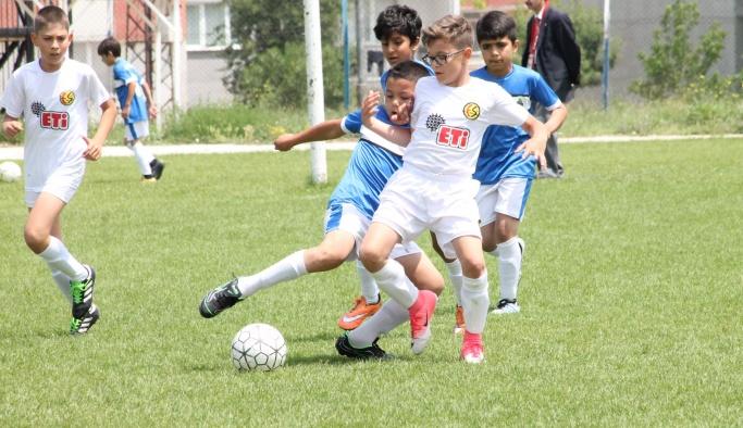 U-11 liginde gol düellosu