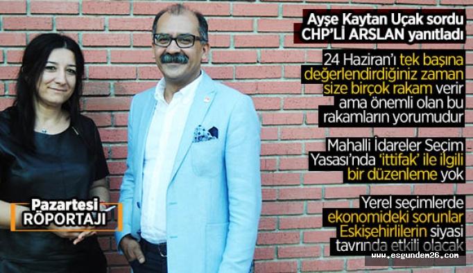 """İbrahim Arslan:  """"CHP'li belediyeleri gidiyor"""" demek, pek çok gerçeğe sırt dönmüşsünüz demektir…"""