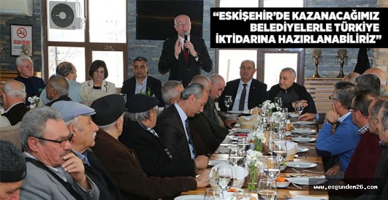 ALEVİ DEDELERİ'NDEN KAZIM KURT'A DESTEK