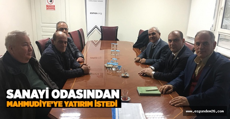 ARSLAN'DAN KESİKBAŞ'A ZİYARET