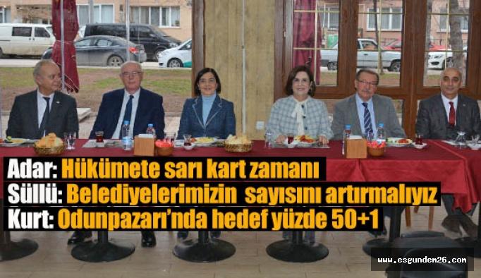 CHP iddialı: Yerel seçimde çok yüksek oy alacağız