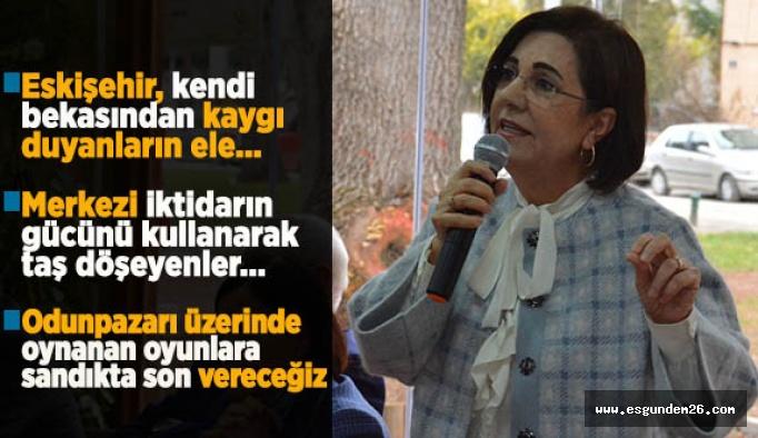 CHP PM ÜYESİ USLUER: ÖNÜMÜZE ENGEL KOYAMAZLAR