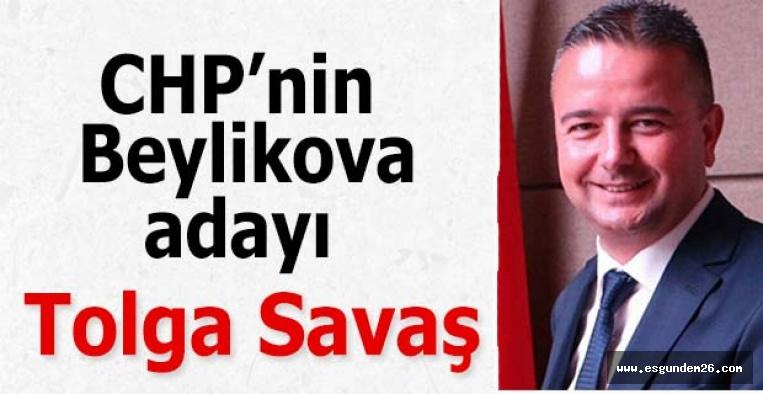 CHP'nin Beylikova adayı Tolga Savaş