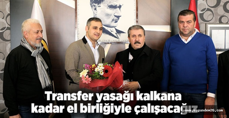 DESTİCİ'DEN ESKİŞEHİRSPOR'A ZİYARET
