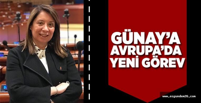 EMİNE NUR GÜNAY'A ÖNEMLİ GÖREV