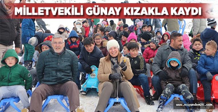 İNÖNÜ'DE KIZAK FESTİVALİ