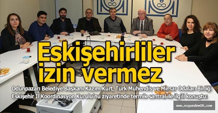 """Kazım Kurt: """"Eskişehir Halkı bu santrale izin vermeyecektir!"""""""