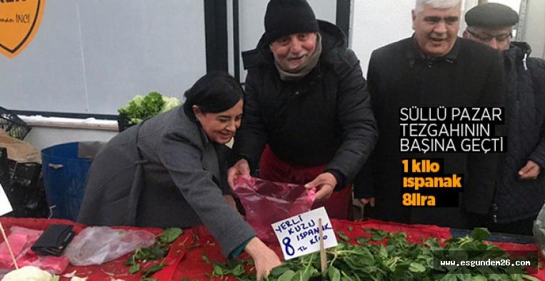 """""""KRİZ YOK DİYENLERİ PAZARA BEKLERİM"""""""