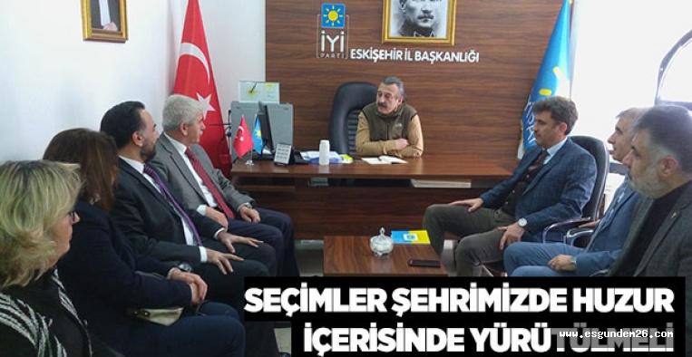 SAKALLI'DAN İYİ PARTİ'YE ZİYARET