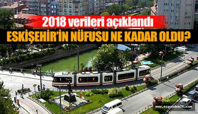 ESKİŞEHİR'İN 2018 NÜFUSU AÇIKLANDI
