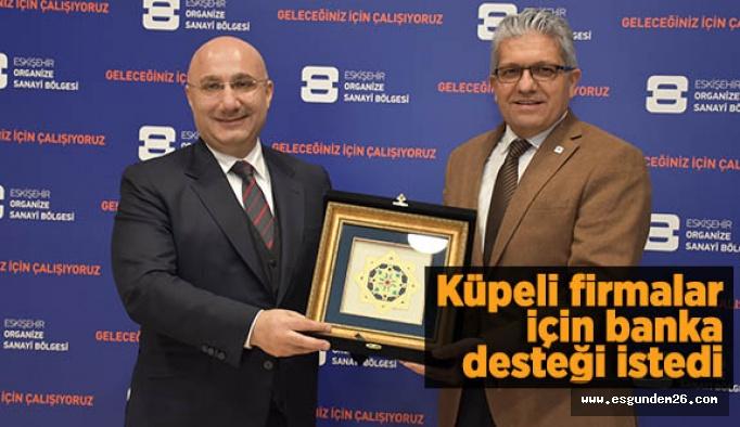 HALKBANK GENEL MÜDÜRÜ ARSLAN'DAN EOSB'YE ZİYARET