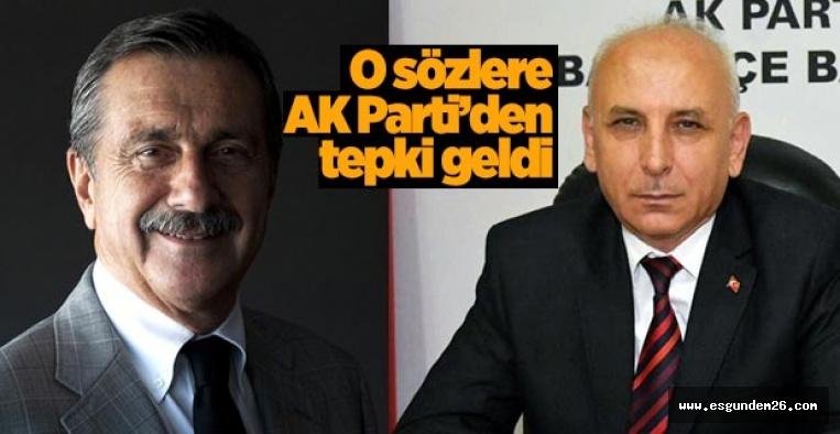 AK Partili Kartalca: Buyursun çayımızı içsin