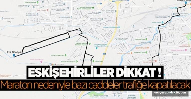 Eskişehir'de yarı maraton heyecanı başlıyor