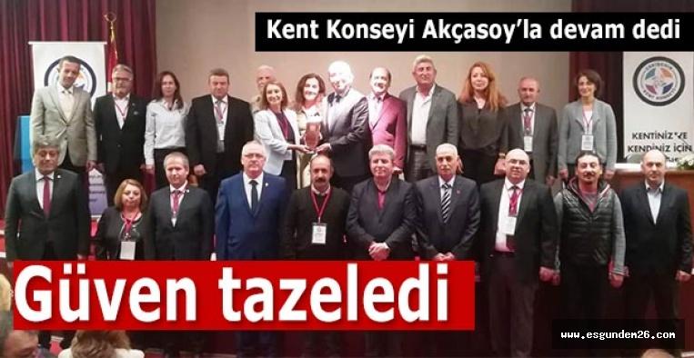 Akçasoy: Eskişehir, geçmişi gelecekle bağlayan köprüdür
