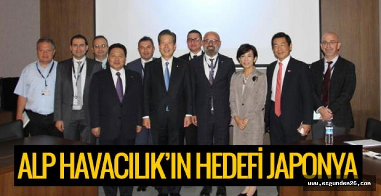 ALP HAVACILIK'IN HEDEFİ JAPONYA