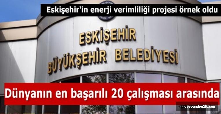 Eskişehir'in enerji verimliliği projesi örnek oldu