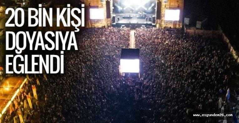 ESKİŞEHİR MİLYONFEST'E AKIN ETTİ