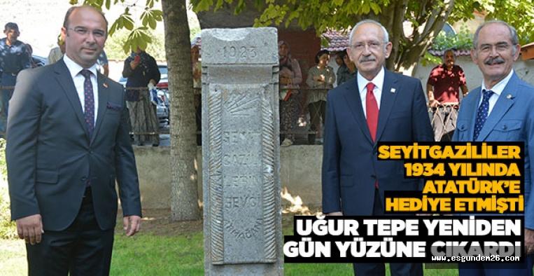 KILIÇDAROĞLU TEPE'Yİ TEBRİK  ETTİ