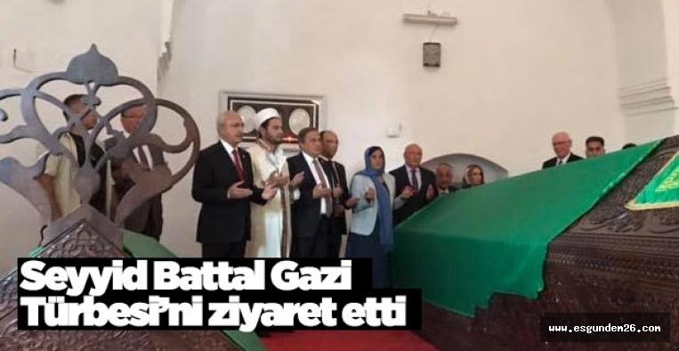 SEYYİD BATTAL GAZİ TÜRBESİNİ ZİYARET ETTİ